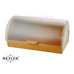CHLEBAK BAMBUSOWY Z POKRYWĄ AKRYLOWĄ METLEX MX-1600 z kategorii chlebaki