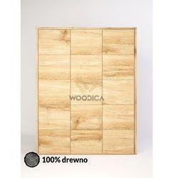 Woodica Szafa dębowa modern 02 159x202x62