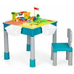 Multistore Meble dla dzieci, stolik do zabawy, krzesełko, klocki do zabawy (5903769971848)