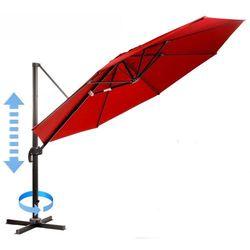 parasol ogrodowy, boczny roma - czerwony marki Myard