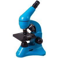 Levenhuk Mikroskop  rainbow 50l lazur 69126 - odbiór w 2000 punktach - salony, paczkomaty, stacje orlen