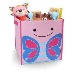Skip hop Pudło na zabawki zoo jumbo - motyl