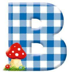 COPPENRATH Literka B - produkt z kategorii- Dekoracje i ozdoby dla dzieci