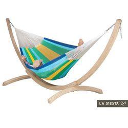 Zestaw hamakowy: siatkowy hamak Mexicana ze stojakiem Canoa, canaria MXH24CNS201 - produkt z kategorii- Hamaki i siedziska