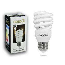 Świetlówka energooszczędna POLUX GOLD 2 mini 15W E27 - oferta [35f0dba8cf3316fc]