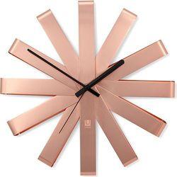 Zegar ścienny ribbon miedziany marki Umbra