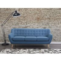 Beliani Sofa niebieska - kanapa - sofa tapicerowana - motala (7081452729230)
