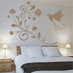 Deco-strefa – dekoracje w dobrym stylu Koliber kwiaty 1099 szablon malarski