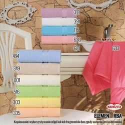 Ręcznik elemental - kolor wrzosowy elemen/rba/313/050085/1 marki Markizeta