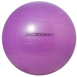 Axer Sport, Anti-Burst, Purple, piłka gimnastyczna, 55 cm