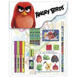 Derform, Angry Birds, zestaw przyborów szkolnych, 16 elementów - z kategorii- pozostałe artykuły szkolne i plastyczne
