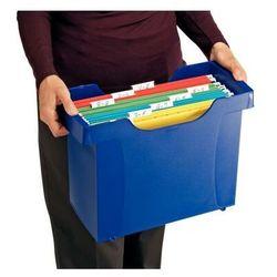 Kartoteka na teczki zaw. Leitz Plus 1993 niebieska (4002432376230)