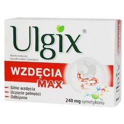 Ulgix Wzdęcia Max, kapsułki miękkie, 30 szt., postać leku: kapsułki