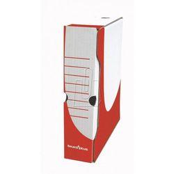 Biuro plus Pudełko archiwizacyjne 80mm czerwone b+