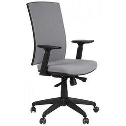 Krzesło biurowe obrotowe KB-8922B/SZARY, fotel biurowy