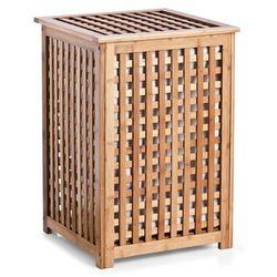 Zeller Bambusowy kosz bamboo na pranie, bieliznę, ubrania - pojemnik na brudną bieliznę, (4003368134383)