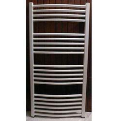 Grzejnik łazienkowy York - wykończenie zaokrąglone, 500x1200, Biały/RAL -
