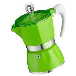 kawiarka do espresso na 3 filiżanki (2790000084) kolor zielony >> bogata oferta - super promocje - darmowy transport od 99 zł sprawdź! marki Gat
