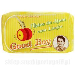 Filety z tuńczyka w oliwie z oliwek z cytryną 120g wyprodukowany przez Good boy