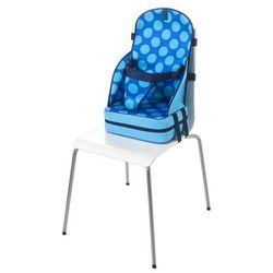 Quaranta Settimane, Przenośny fotelik dla dzieci z neoprenu, Niebieski w kropki - sprawdź w wybranym sklepie