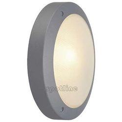 Zewnętrzna LAMPA ścienna BULAN 229072 Spotline sufitowa OPRAWA ogrodowa IP44 outdoor okrągła srebrnoszary - sprawdź w wybranym sklepie