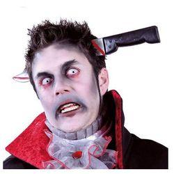 Nóż w głowie na Halloween - 1 szt.