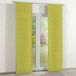 Dekoria zasłony panelowe 2 szt., kwiatki na zielonym tle, 60 x 260 cm, wyprzedaż do -30%