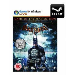 Batman: arkham asylum game of the year edition - klucz od producenta Cenega