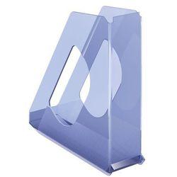 Pojemnik Esselte Europost Solea A4/70mm, przezroczysty-niebieski