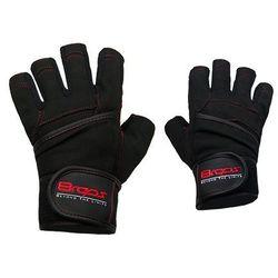 Rękawice kulturystyczne 8REPS DD-107 BeStrong męskie Czerwony (rozmiar L) z kategorii Rękawice do walki