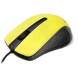 Gembird Mysz optyczna czarno-żółta (mus-101-y) darmowy odbiór w 19 miastach! (8716309080705)