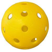 Spokey Piłka do unihokeya  żółta 85658/ż - żółty ||biały