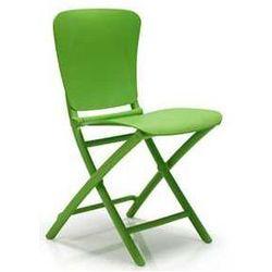 Składane krzesło ogrodowe na balkon Nardi Zic Zac zielone, kup u jednego z partnerów