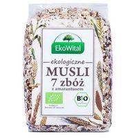 Musli 7 zbóż z amarantusem bio 300 g ekowital od producenta Eko wital
