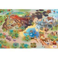 Domarex Dywanik dziecięcy Little Hippo Dinozaury, 75 x 112 cm, 232315