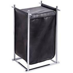 Kosz tekstylny na pranie z metalowym stelażem, pojemnik KIOTO z magnetycznym zamknięciem - 60 l, 64 x 41 x 45 cm, WENKO