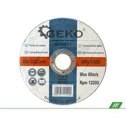 Tarcza do metalu Geko 125x1.2x22 G00021 - sprawdź w wybranym sklepie