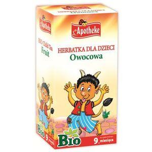 Apotheke bio herbatka dla dzieci owocowa, 20 torebek (8595178205989)