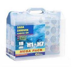 Zestaw Żarówki samochodowe Compass 12 V box MEGA H1 + H7 + bezpieczniki - produkt z kategorii- Pozos