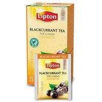 Czarna aromatyzowana herbata  classic blackcurrant 25 kopert marki Lipton