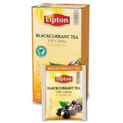 Czarna aromatyzowana herbata Lipton Classic Blackcurrant 25 kopert