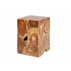 Sofa.pl Invicta stolik square 30 cm - drewno tekowe
