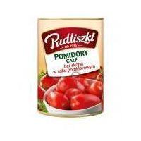 Pudliszki Pomidory całe bez skórki w soku pomidorowym 400 g  (5900783002145)