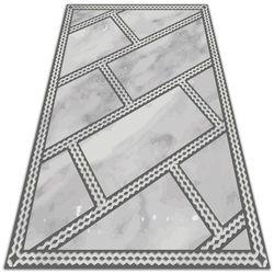 Dywan na balkon lub taras Dywan na balkon lub taras Ozdobne marmurowe płytki