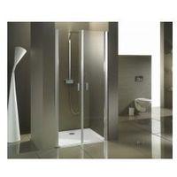 Riho  nautic n111 drzwi prysznicowe wahadłowe 100x200, szkło transparentne easyclean ggb0805800
