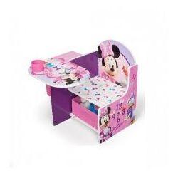Biurko, stolik i pojemnik na zabawki 3w1, MYSZKA MINNIE