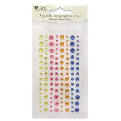 Kryształki samoprzylepne  grkr-017/120szt. - 4 kolory, marki Dalprint