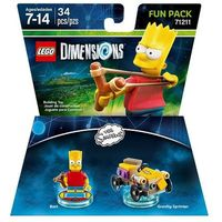 Avalanche studios Lego dimensions - simpsons fun pack 71211 bart