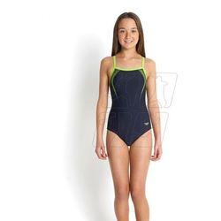 Strój kąpielowy Speedo Sports Logo Thinstrap Navy Junior 8-09729B064 z kategorii Sprzęt pływacki dla dziec