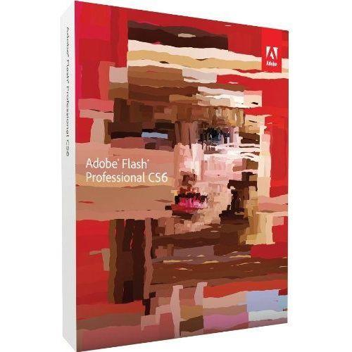 Adobe Flash Professional CS6 ENG Win/Mac - CLP1 dla instytucji EDU